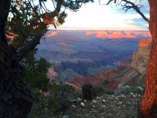 Grand Canyon at Sunset, my collection.